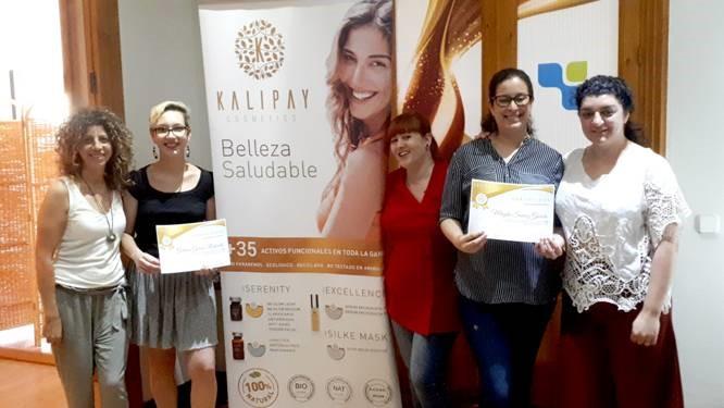 Foto de la formación de Kalipay Cosmetics en Barcelona